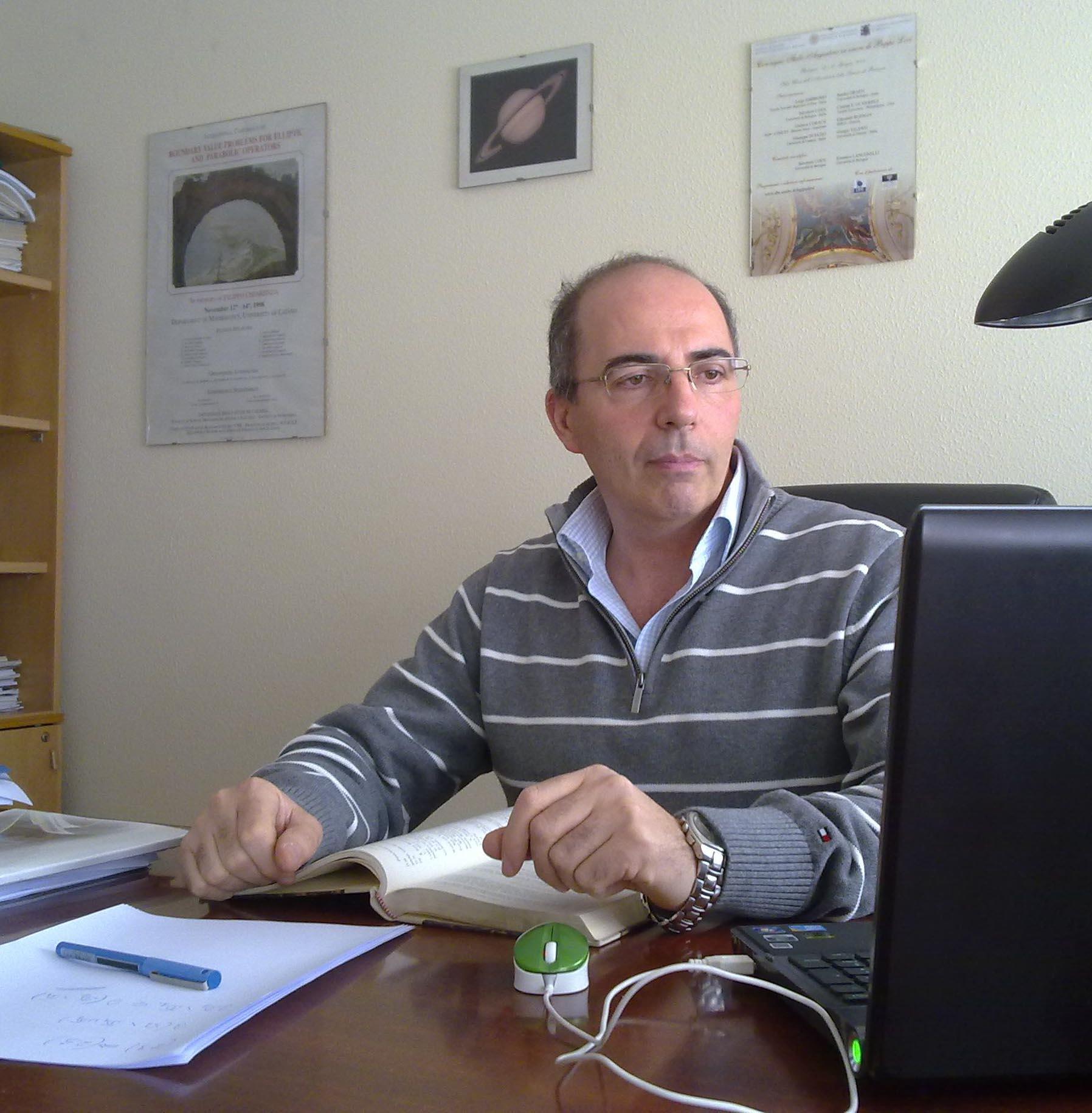 Dr. Giuseppe Di Fazio, Professor